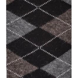 Chaussettes Intarsia Laine Noir - LABONAL 38749 8002