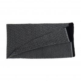 Echarpe géométrique noir - LABONAL 75243 8000