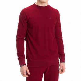 Sweat en molleton - rouge - TOMMY HILFIGER UM0UM01026-696