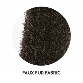 Echarpe Faux Fur - marron - MODUS VIVENDI NS1885-BROWN