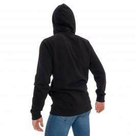Sweat-shirt à capuche entièrement zippé - Bold Accents noir - CALVIN KLEIN NM1609E-001
