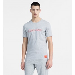 T-shirt avec logo - Monogram gris - CALVIN KLEIN NM1576E-080