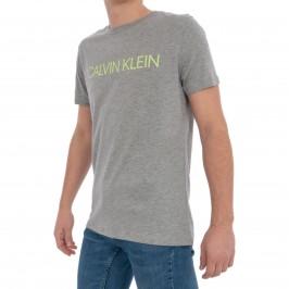 T-shirt Relaxed Crew Tee - gris - CALVIN KLEIN *KM0KM00328-033