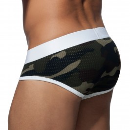 Slip Stripe camo - blanc - ADDICTED AD764 C01