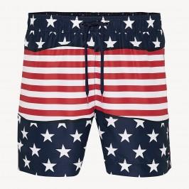 Stars and Stripes Print Swim Shorts - TOMMY HILFIGER UM0UM01420 675