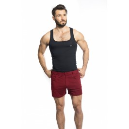 TLJ Short - Grenat - L'HOMME INVISIBLE SP01-TLJ-012