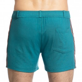 TLJ Short - Vert Sarcelle - L'HOMME INVISIBLE SP01-TLJ-043