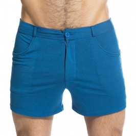 TLJ Short - Bleu Imperial - L'HOMME INVISIBLE SP01-TLJ-040