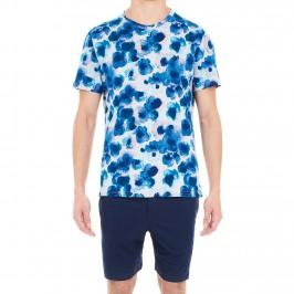Pyjama court - Aqua Flower - HOM *401470-00RA