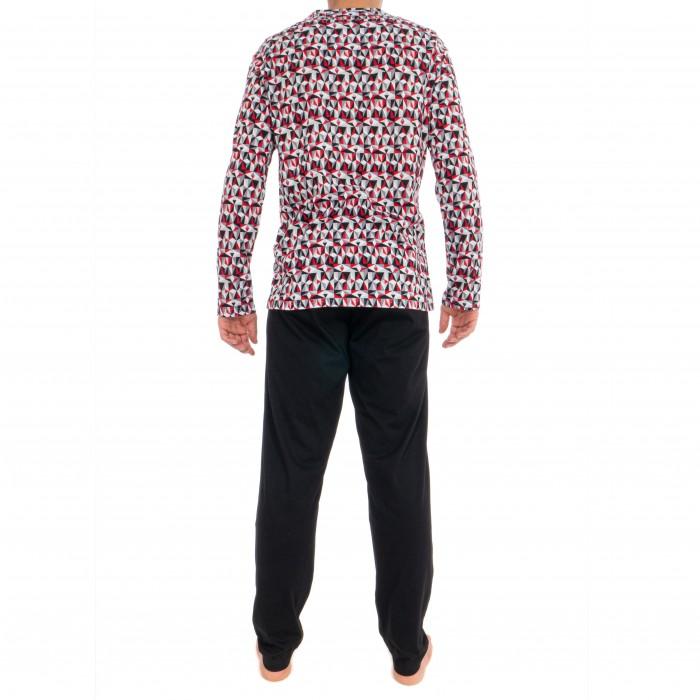 fe3b924c20 Pyjama long - Tiles - HOM *401511-00PA