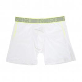 Branded Men/'s Underwear Basso Aumento Boxer Trunks Nero Bianco Grigio 3 in una scatola