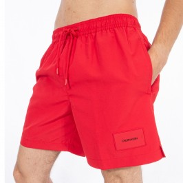 Bath shorts medium DrawString - Lisptick red - CALVIN KLEIN *KM0KM00296-654