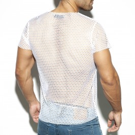 Open mesh t-Shirt - ES COLLECTION TS254 C01