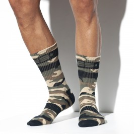 Camo socks - ES COLLECTION SCK08 C17