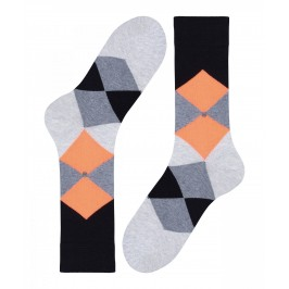 Chaussettes Burlington Neon Clyde - noir - BURLINGTON 20542-3000