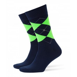 Chaussettes Burlington Neon King - marine - BURLINGTON 21070-6121