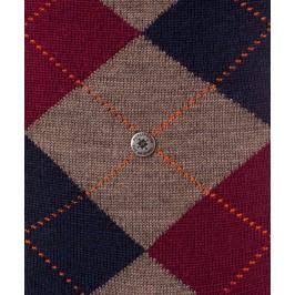 Chaussettes Mi-Bas Edinburgh - marron/marine/violet - BURLINGTON 27082-5817
