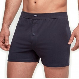 Boxer boutonné Pure Cotton - noir - IMPETUS 1271001-039