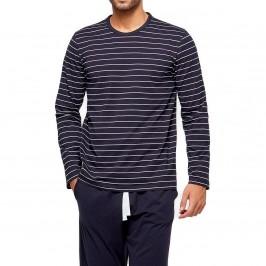 Pyjama ORGANIC rayé - bleu - IMPETUS GO61024-039