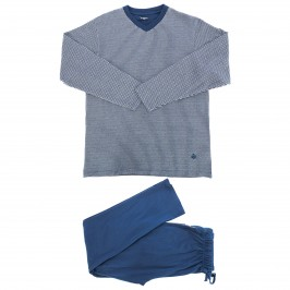 Pyjama Punto jacquards - navy - GUASCH GC971 557