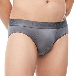 Hip Brief Cotton Modal Luxe - grey - CALVIN KLEIN NB1555A-5GS