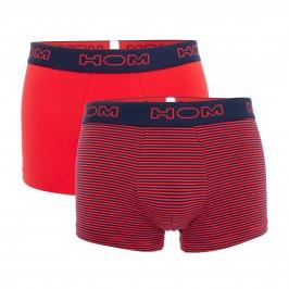 Lot de 2 Boxers Marins - rouge - HOM 401735-D039