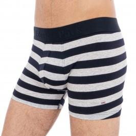 Grey Striped Boxer Shorts - EDEN PARK E201E41-169