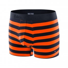 Orange Striped Boxer Shorts - EDEN PARK E201E41-E89