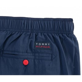 Short de bain Tommy Medium Drawstring - Pitch Blue - TOMMY HILFIGER -UM0UM01855-CUN