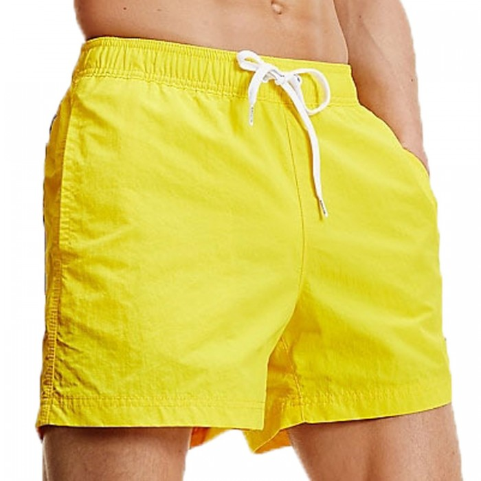 Bath shorts with contrast clamping cord - Bold Yellow - TOMMY HILFIGER UM0UM01080-ZGT