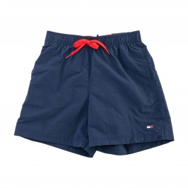 Bath shorts with contrast clamping cord - Pitch Blue - TOMMY HILFIGER -UM0UM01080-CUN
