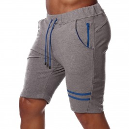 Fabio shorts Grey/royal blue - TOF PARIS SH0029GBU