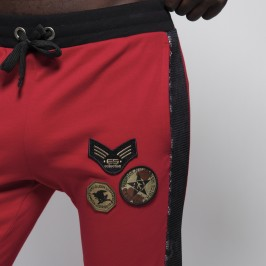 Pantalon Army padded Sport - rouge - ES COLLECTION SP221 C06