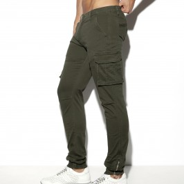 Pantalon Cargo - noir - ES COLLECTION ESJ053 C12
