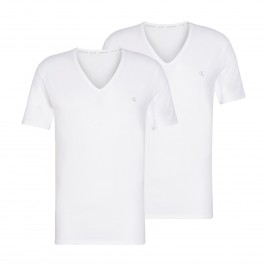 2 Pack Lounge T-shirts - CK ONE white - CALVIN KLEIN NB2408A-100
