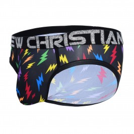 Rainbow Lightning Brief w/ Almost Naked - ANDREW CHRISTIAN 91506-LGBP