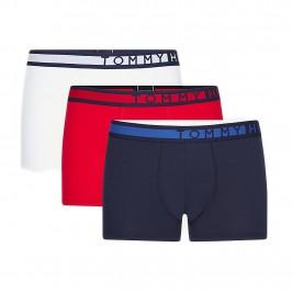 Lot de 3 boxers Tommy - rouge blanc et navy - TOMMY HILFIGER UM0UM01234-0XY