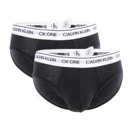 Lot de 2 slips Calvin Klein - CK one noir - CALVIN KLEIN -NB2383A-BNM