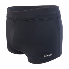 Swim Trunk - Core Solids black - CALVIN KLEIN KM0KM00418-BEH