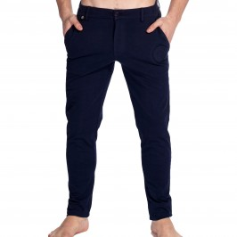 Basel - Pantalon Jersey Marine - L'HOMME INVISIBLE HW153-ASE-049