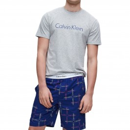 Shorts Pyjama Set - Modern Cotton - CALVIN KLEIN NM1746E-GKL