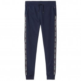 Curly cotton sweatpants - navy - TOMMY HILFIGER UM0UM00706-416