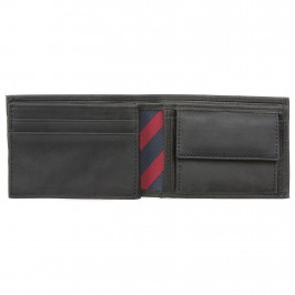 Small Leather Wallet - TOMMY HILFIGER AM0AM00662-002