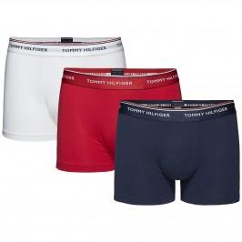 Lot of 3 cotton Stretch boxers Tommy Hilfiger - multi - TOMMY HILFIGER 1U87903842-611 - per
