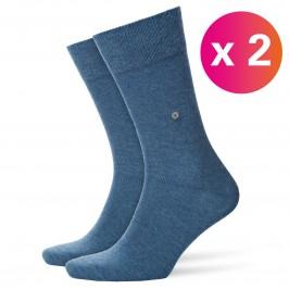 Everyday 2-Pack Socks light denim - BURLINGTON 21045-6660