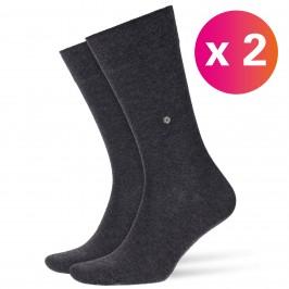 Everyday 2-Pack Socks grey - BURLINGTON 21045-3081