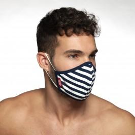 Masque à rayures - marin - ADDICTED AC103-C09