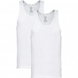 2 Pack Lounge Tank Tops  Modern Cotton - white - CALVIN KLEIN NB1099A-100