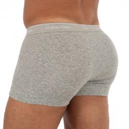 Lot de 3 boxers classic fit - gris noir blanc - CALVIN KLEIN NB1893A-MP1 - per