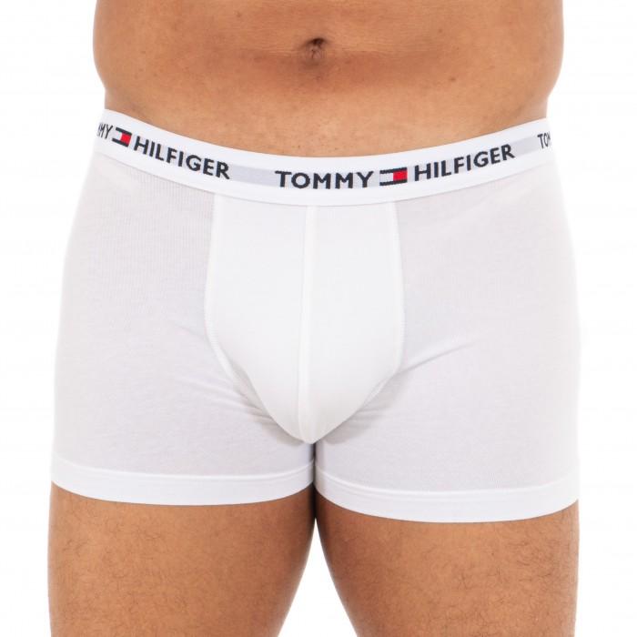Logo Organic Cotton Trunks - white - TOMMY HILFIGER UM0UM01659-YCD